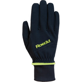 Roeckl WS Hanske black/yellow